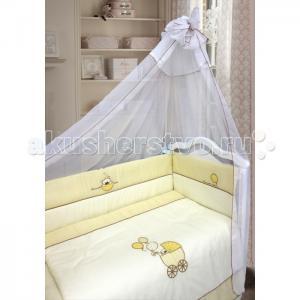 Комплект в кроватку  Мой малыш (7 предметов) Bombus