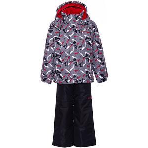 Комплект : куртка, полукомбинезон Zingaro by Gusti. Цвет: серый