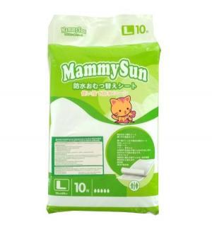 Пеленки  впитывающие 60х90 см, 10 шт MammySun
