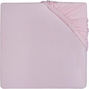 Простыня на резинке Jollein 60х120 см, Vintage pink (Винтажно-розовый). Цвет: розовый
