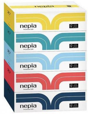 Туалетная бумага без аромата  двухслойная 30 м, 4 шт Nepia