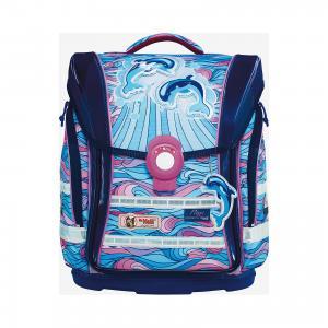 Школьный рюкзак Воздушные шары MC Neill  ERGO Light COMPACT McNeill. Цвет: blau-kombi