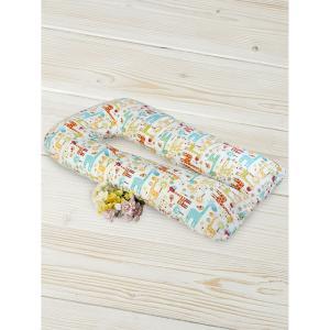 Подушка для беременных  Жирафики 340 х 35 см, цвет: мультиколор Amarobaby