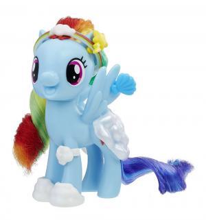 Игровой набор  Пони Рейнбоу Дэш с волшебными нарядами 8 см My Little Pony