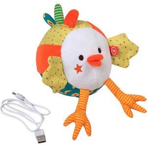Интерактивная мягкая игрушка  Курочка Ксюша Happy Baby. Цвет: разноцветный