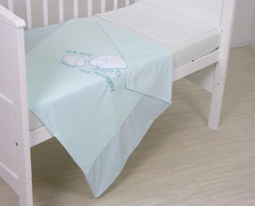 Постельное белье  Белые кудряшки 140х70 (3 предмета) Fairy