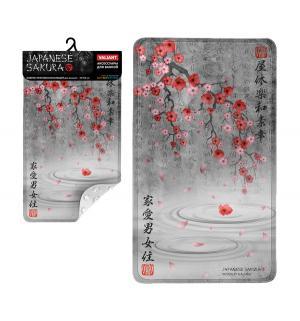 Коврик  Japanese sakura на присосках Valiant