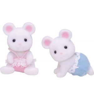 Набор фигурок  Белые Мышата-двойняшки Sylvanian Families