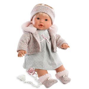 Кукла  Ника 48 см, озвученная Llorens. Цвет: серый
