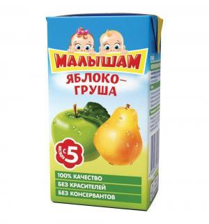 Нектар , груша-яблоко 125 мл, 1 шт ФрутоНяня