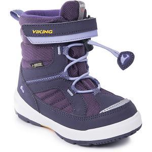Ботинки Playtime GTX Viking для девочки. Цвет: лиловый