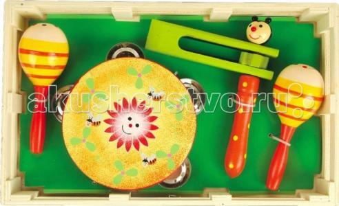 Музыкальный инструмент  набор 2 Мир деревянных игрушек