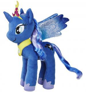 Мягкая игрушка  My Little Pony Принцесса Луна с волосами 30 см Hasbro