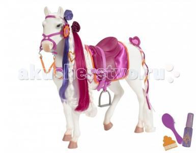 Лошадь 50 см с длинной гривой порода Камарилло Our Generation Dolls
