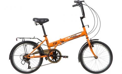 Велосипед двухколесный  TG30 складной 6 скоростей 20 Novatrack