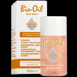 Косметическое масло для лица и тела  (от шрамов, растяжек, неровного тона), 60 мл Bio-Oil