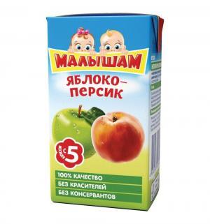 Нектар , яблоко-персик 125 мл, 1 шт ФрутоНяня