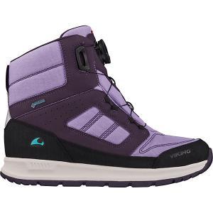 Утепленные Ботинки VIKING. Цвет: фиолетовый