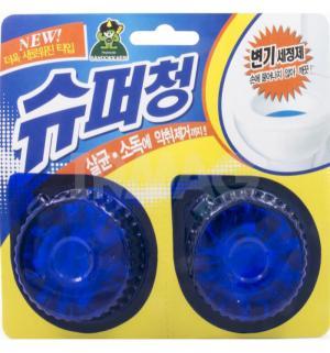 Очищающая таблетка для чистки туалета  Super Chang, 40 гр Sandokkaebi