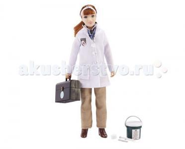 Кукла ветеринар Лора с набором инструментов Breyer