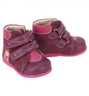 Ботинки , цвет: бордовый Скороход