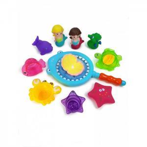 Набор игрушек для ванной Русалки с сачком ЯиГрушка