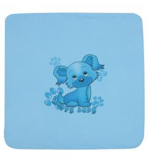 Плед  90 х см, цвет: голубой Три медведя