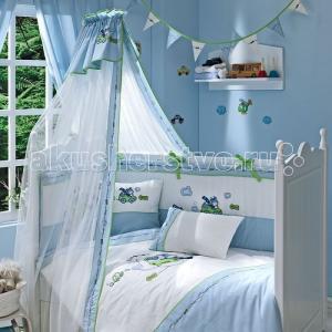 Комплект в кроватку  Leo Teo (5 предметов) Funnababy