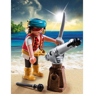 Конструктор Playmobil Экстра-набор Пират с пушкой PLAYMOBIL®