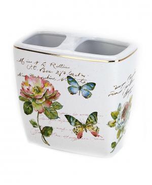Стакан для зубных щеток Butterfly Garden Avanti