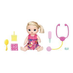 Интерактивная кукла  Baby Alive Малышка у врача Hasbro