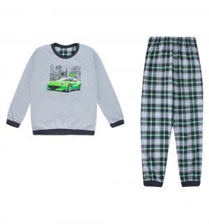 Пижама джемпер/брюки  Street, цвет: серый Cornette