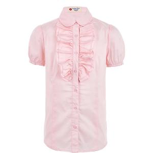 Блузка Button Blue. Цвет: розовый