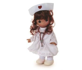 Кукла Медсестра брюнетка 21 см Precious