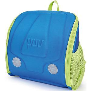 Ранец  Max Bluu YUU. Цвет: синий/зеленый