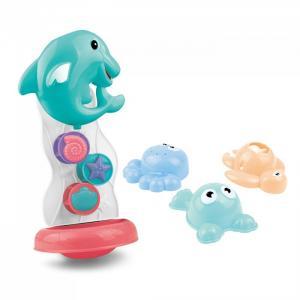 Набор игрушек для ванной Дельфин и друзья Pituso