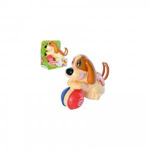 Заводная игрушка  Щенок с мячиком Keenway