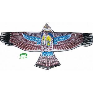 Воздушный змей  Орел Тилибом. Цвет: разноцветный