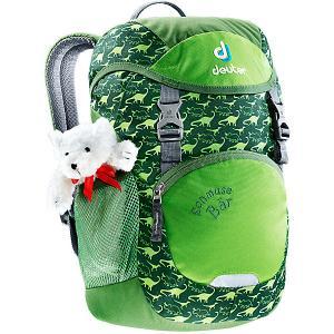 Рюкзак  Schmusebär, зеленый Deuter. Цвет: зеленый