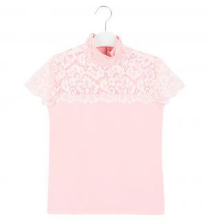 Водолазка , цвет: розовый Белый Слон