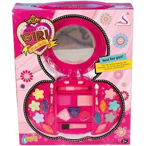 Набор детской косметики Qunxing Toys. Цвет: розовый