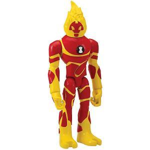 Фигурка Playmates Ben 10 «Человек-огонь». Цвет: желтый/красный