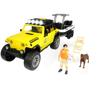 Игровой набор рыбака  Ford Rapto PlayLife Dickie Toys