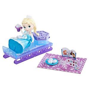 Игровой набор Disney Princess Холодное сердце Эльза и снежное путешествие Hasbro