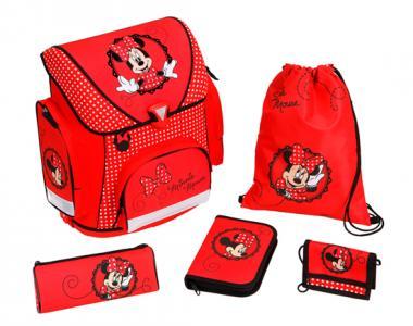 Портфель с наполнением Minnie Mouse (5 предметов) Scooli