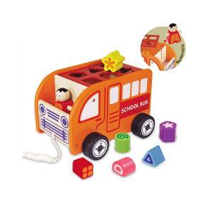 Деревянная игрушка Im toy Сортер Автобус I'm