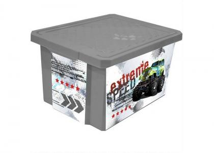 Ящик для хранения X-Box Супер Трак 17 л Little Angel