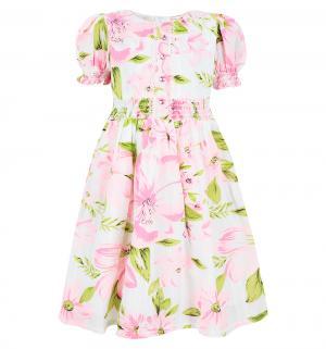 Платье , цвет: белый/розовый Damy-M