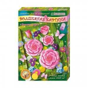 Набор для изготовления картины Пышные розы Клевер