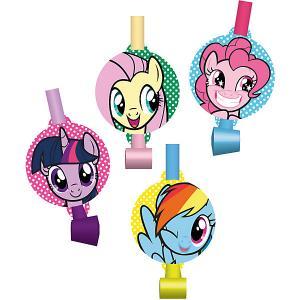 Набор праздничных свистков My Little Pony Дуделка 4шт. Daisy Design